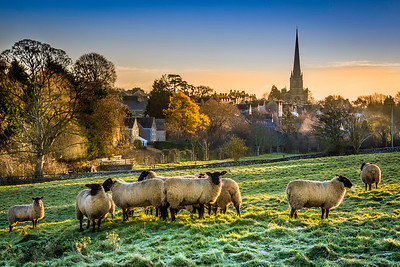 December Dawn in Tetbury