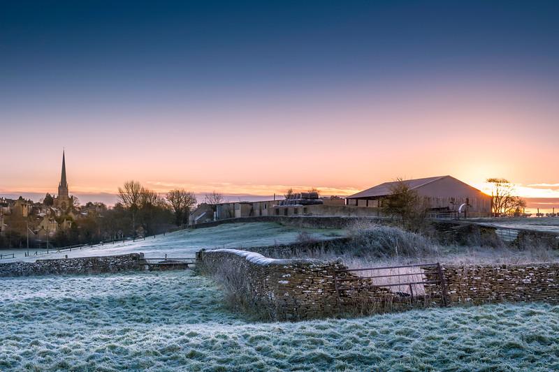 Tetbury December Sunrise