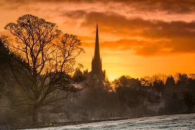 First Light Over Tetbury