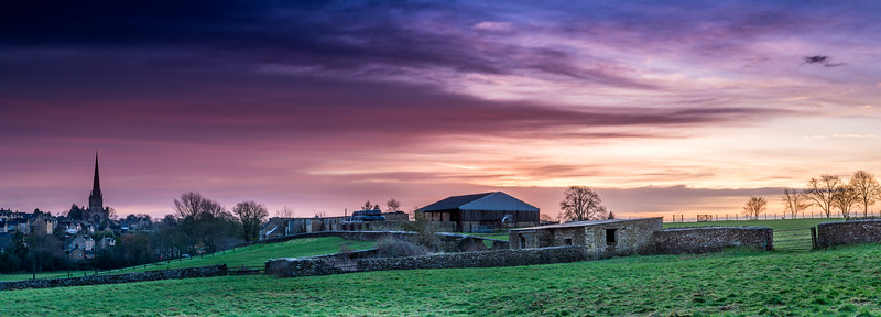 January Morning Panoramic
