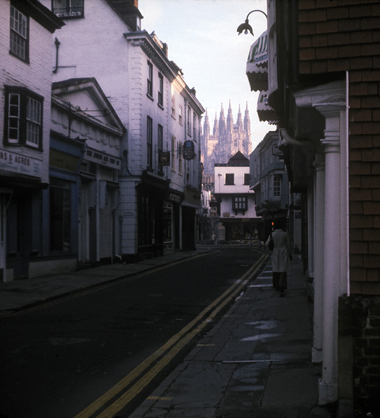 Weekend in Canterbury and nearby, November 1976