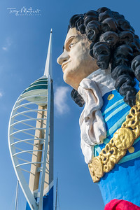 HMS Marlborough Figurehead