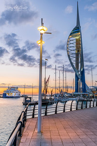 Spinnaker Tower, Portsmouth, Hampshire.