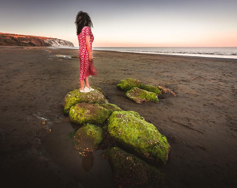 On the rocks! - Sandown, Isle of Wight