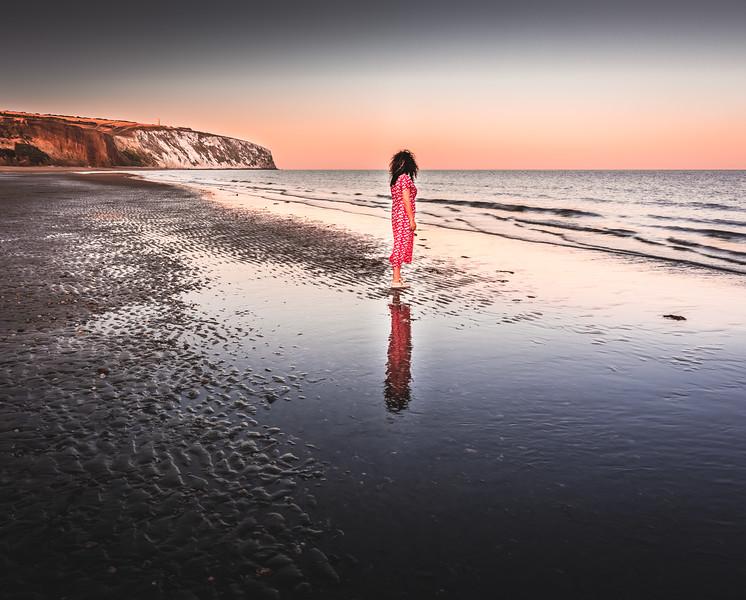 Mirror Mirror on the Beach - Sandown, Isle of Wight