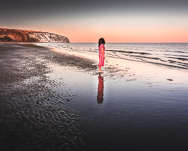 Mirror Mirror on the Beach - Sandown, Isle of Wight
