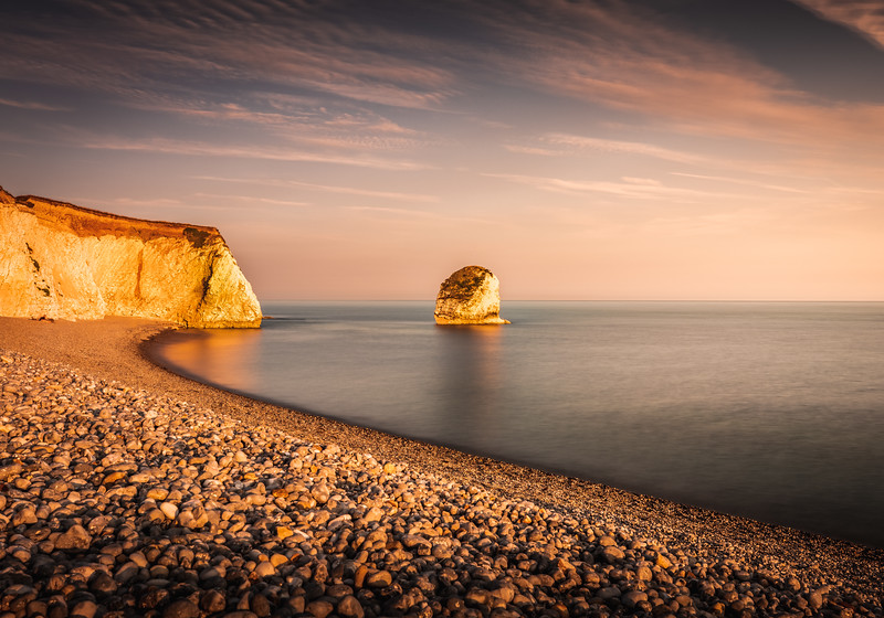 Bay of Gold! - Freshwater Bay, Isle of Wight