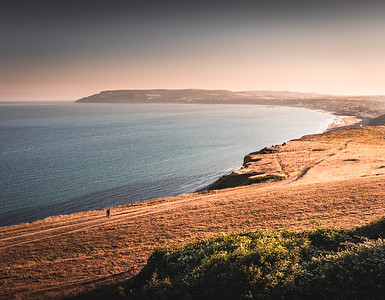 Evening Stroll - Culver Down, Isle of Wight