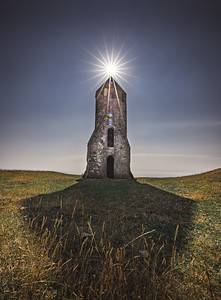 A crown so bright! - St. Catherine's Oratory, Isle of Wight