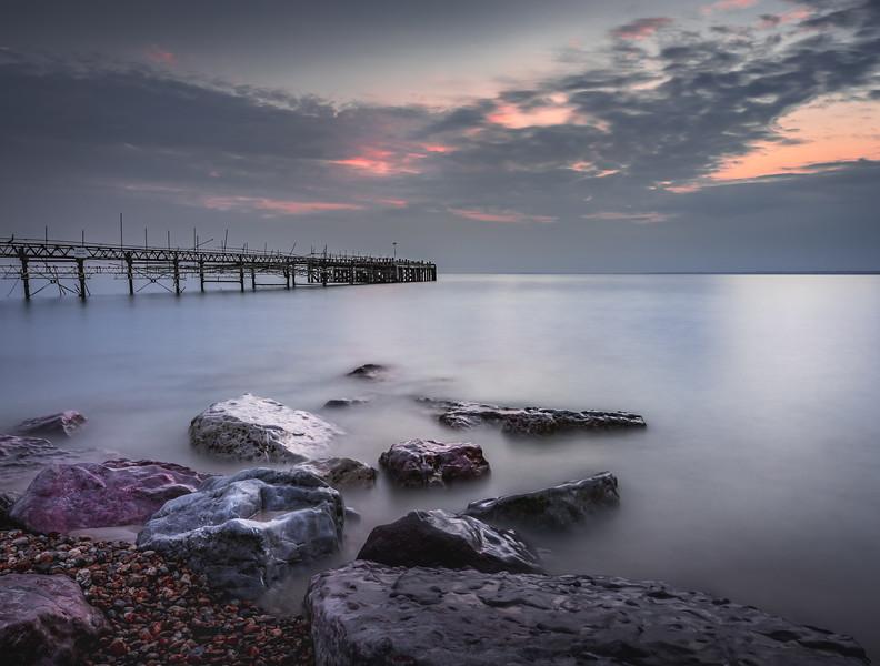 Smooooth! - Totland Bay Pier, Isle of Wight