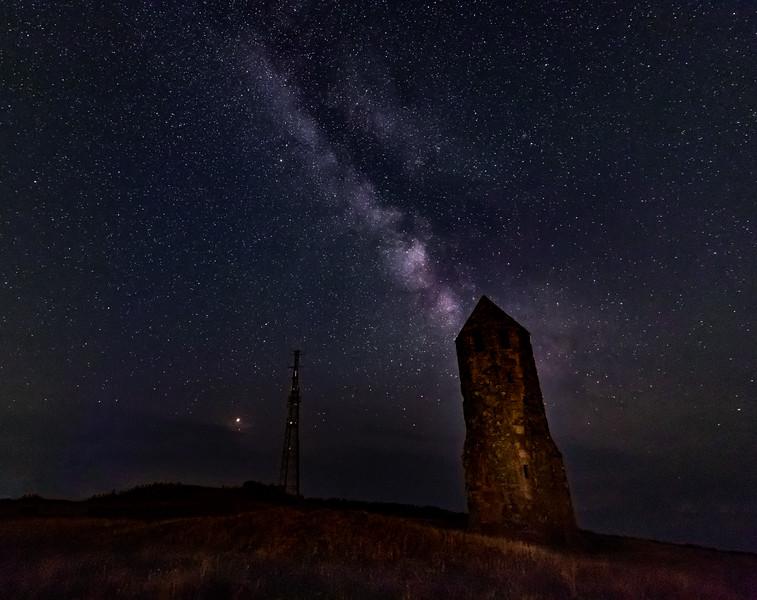 Starry Night! - St. Catherine's Oratory, Isle of Wight