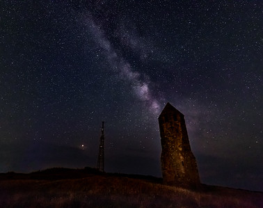 Starry Night! - St. Catherine's Oratory, Isle of Wight