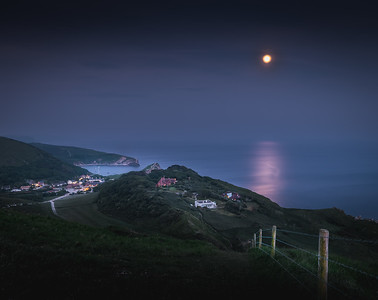 Moonshine! - Lulworth Cove, Jurassic Coast