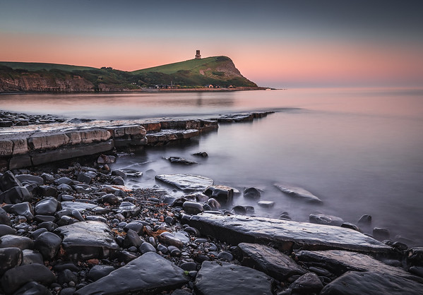 Last Light! - Kimmeridge Bay, Jurassic Coast