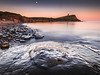 Twilight Moon - Kimmeridge Bay, Jurassic Coast