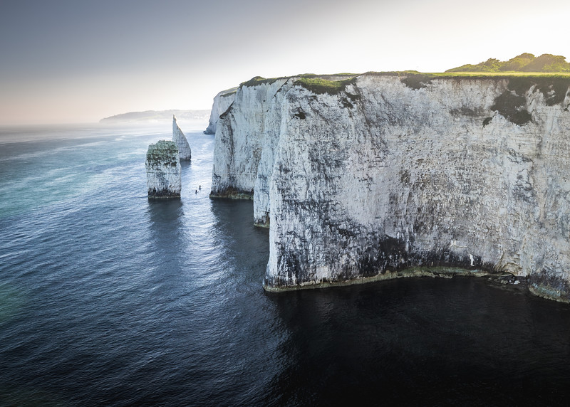 Canoeing in No Man's Land - Old Harry Rocks