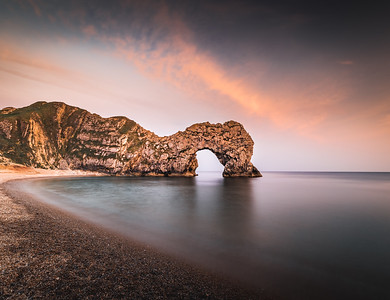 185 million year old door - Durdle Door, Jurassic Coast