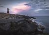 Moon over Portland Bill Lighthouse! - Isle of Portland