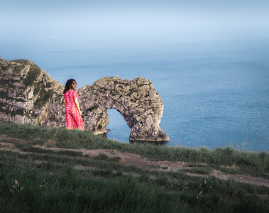 Hazy Days - Durdle Door, Jurassic Coast