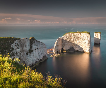 Harry in the sun! - Old Harry Rocks, Jurassic Coast