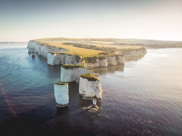 Harry and his family! - Old Harry Rocks, Jurassic Coast