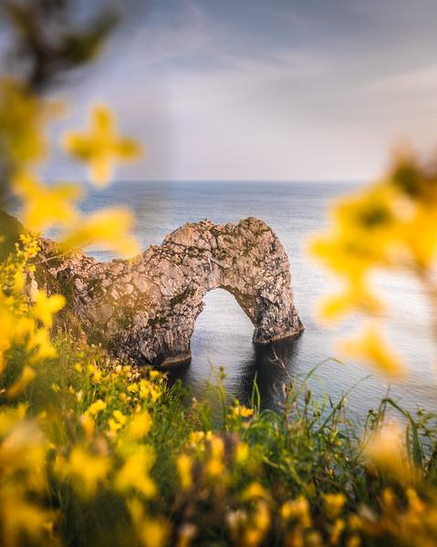 Framed! - Durdle Door, Jurassic Coast