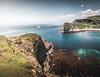 On the edge! - Lulworth Cove, Jurassic Coast