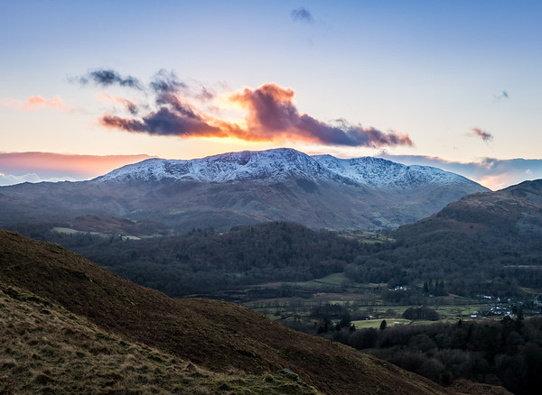 Burning Clouds! - Loughrigg Fell, Lake District