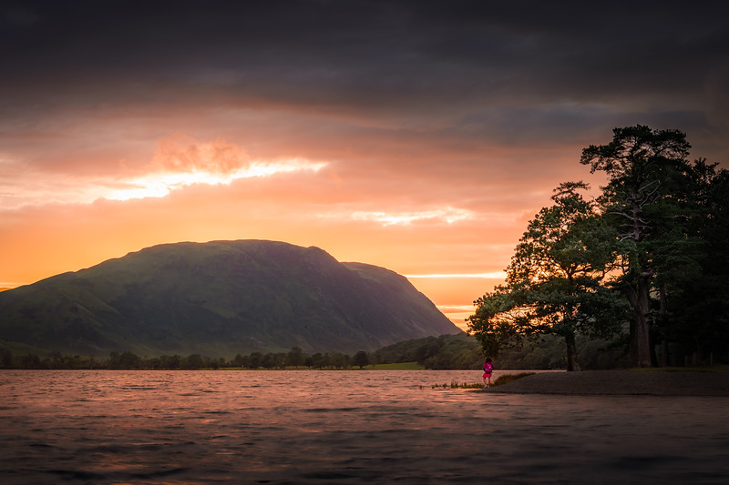 Blinded by the Light! - Buttermere, Lake District