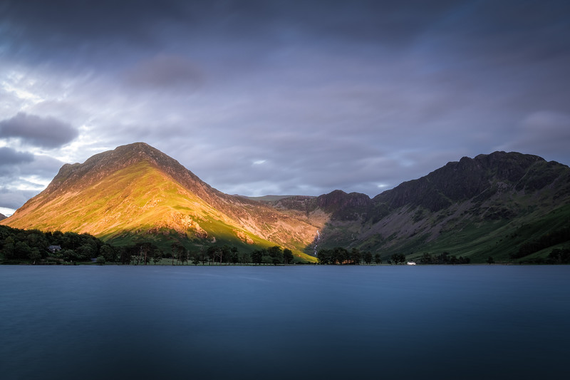 Mountain on fire! - Buttermere, Lake District