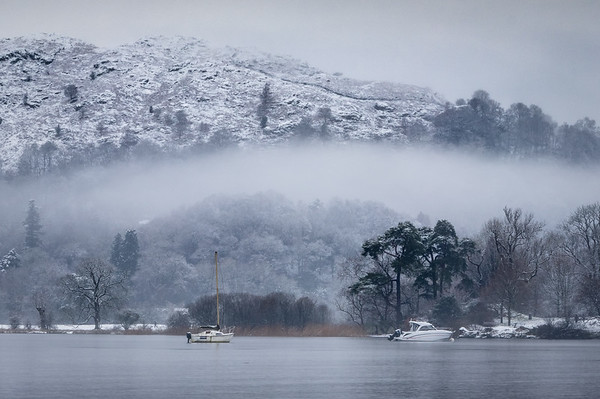 Rolling Mist - Ambleside, Lake District