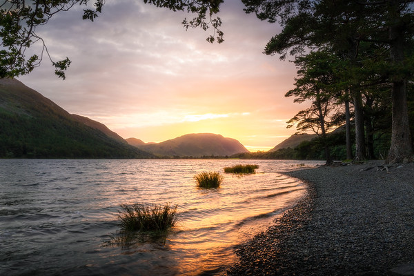 Lighting the fire! - Buttermere, Lake District