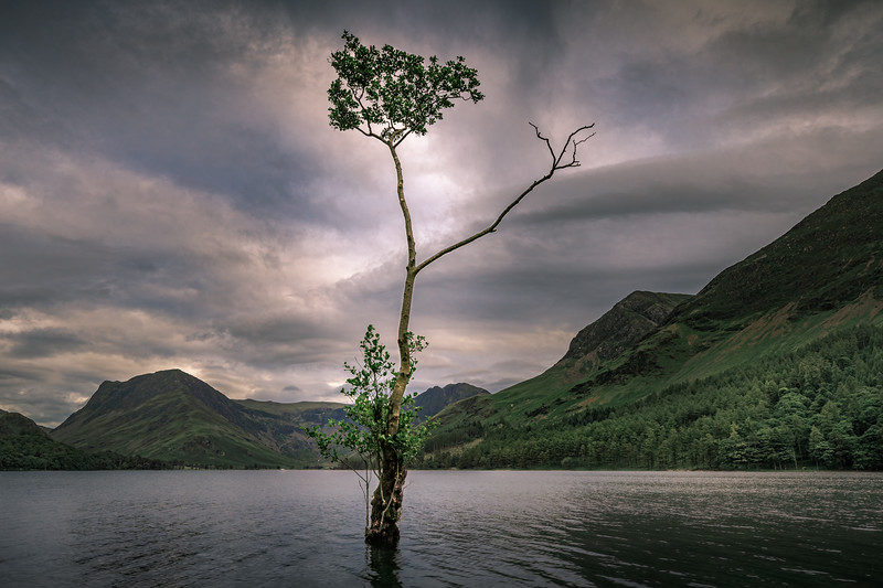 A break in the weather! - Buttermere, Lake District
