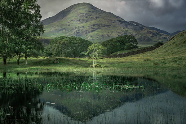The Old Man of Coniston! - Kelly Hall Tarn , Lake District