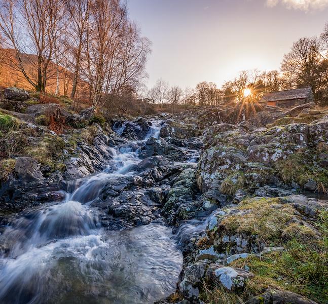 Last Light - Borrowdale, Lake District