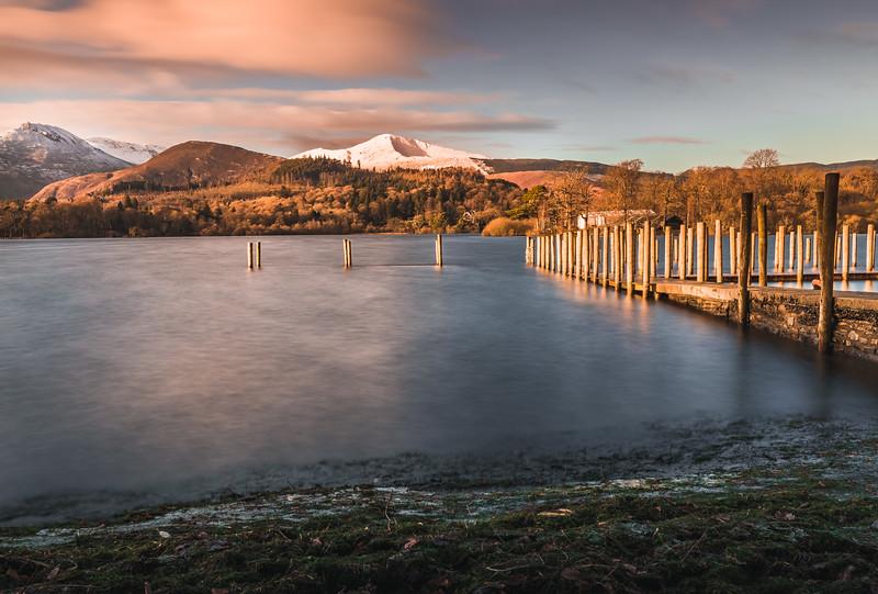 Golden Pier - Derwent Water, Lake District