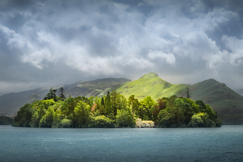 In the spotlight! - Derwent Water, Lake District