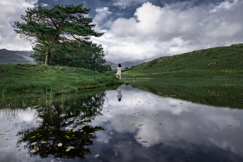 Quietude! - Kelly Hall Tarn, Lake District
