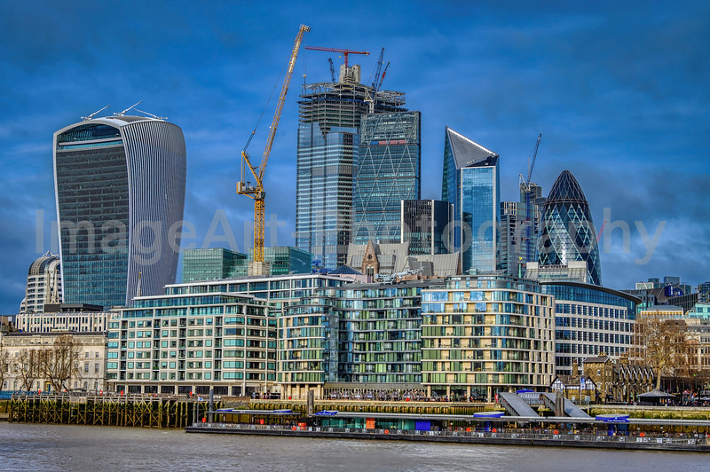 The City of London, old and new