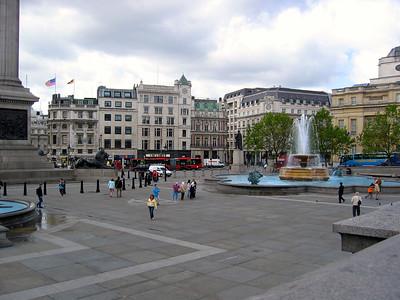 Trafalgar Square May 2005