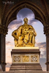 Albert Memorial - Kensington Gardens, London