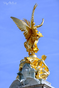 The Victoria Memorial, Buckingham Palace, London