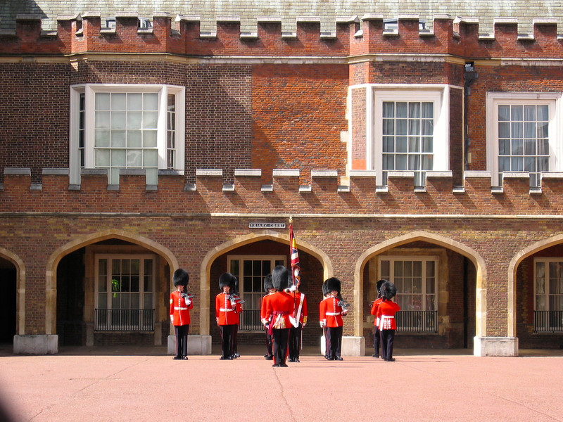 Changing of the Guard<br /> May 2005