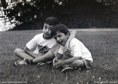 Brothers: Ali and Hammad.