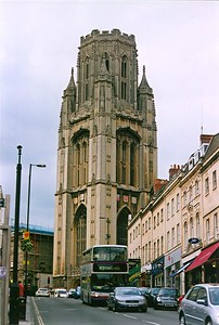 Bristol University Tower, Bristol, (UK).