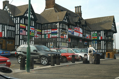 World Cup June - July 2006. A Pub on Bristol Road (Northfield) Birmingham. UK.
