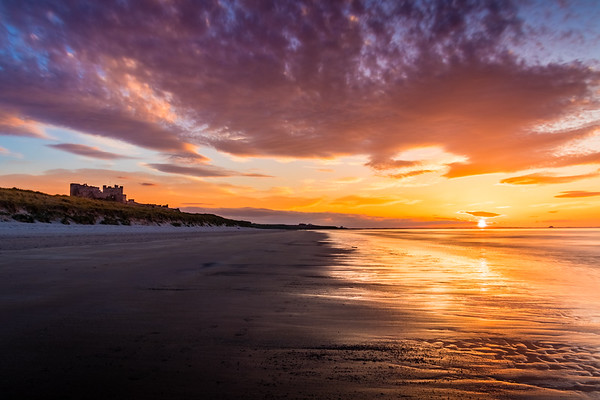 Bamburgh Castle, Northumberland, United Kingdom