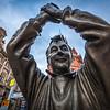 Brian Clough Statue in Nottingham