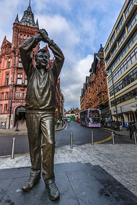 Brian Clough Statue in Nottingham