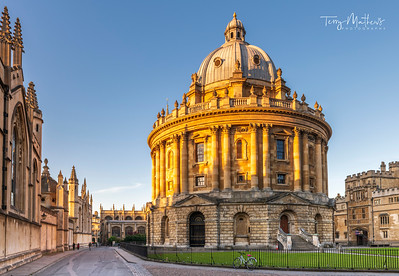 The Radcliffe Camera at Dawn
